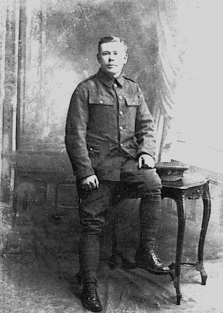 Fred Hillier in 1914