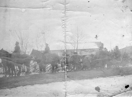 Lord Gorell's funeral cortege, 17th January 1917