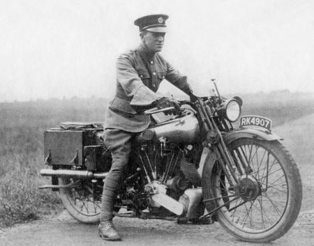 T E Lawrence + Brough Superior SS100