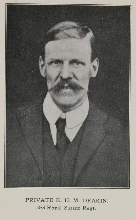 Profile picture for Edgar Henry Major Deakin