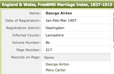 marriage index