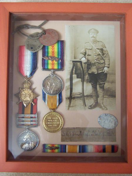 Robert Henry King's War Medals