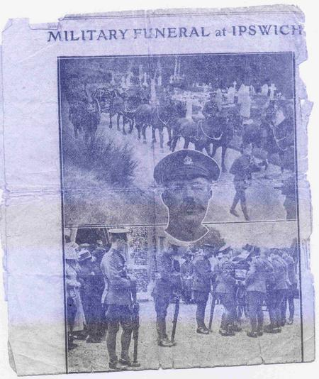 Military Funeral at Ipswich