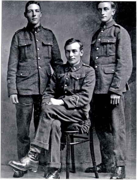 William Shackleton, William Watson (seated) James