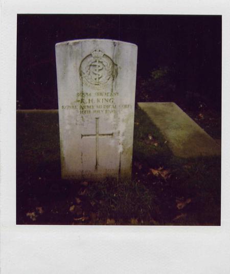 Gravestone in Ipswich Cemetery