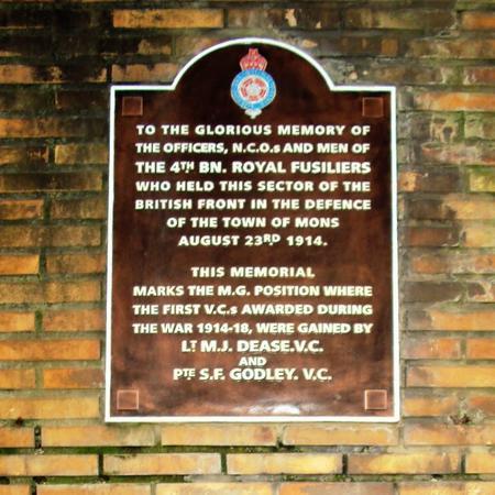 Dease & Godley VCs Memorial