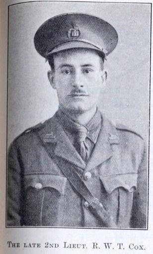 Profile picture for Robert William Talbot Cox