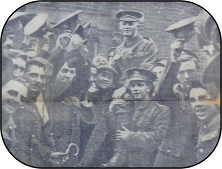 Leonard Keyworth and the 24th London Regiment.