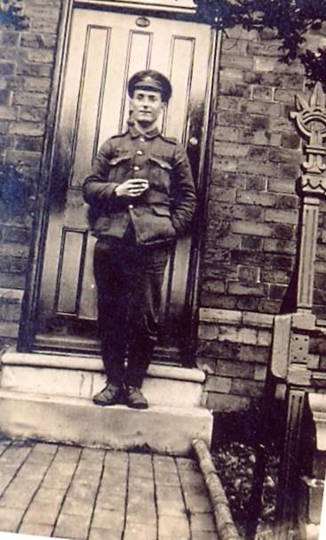 Francis Martin Darlow at home.