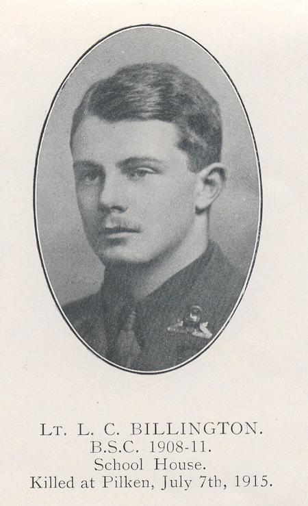 Profile picture for Leslie Charles Billington