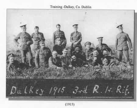 Training in Dalkey, co Dublin 1915