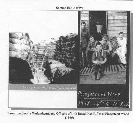 Front Line Bay (Wulerghem) & Ploegsteert Wood 1916