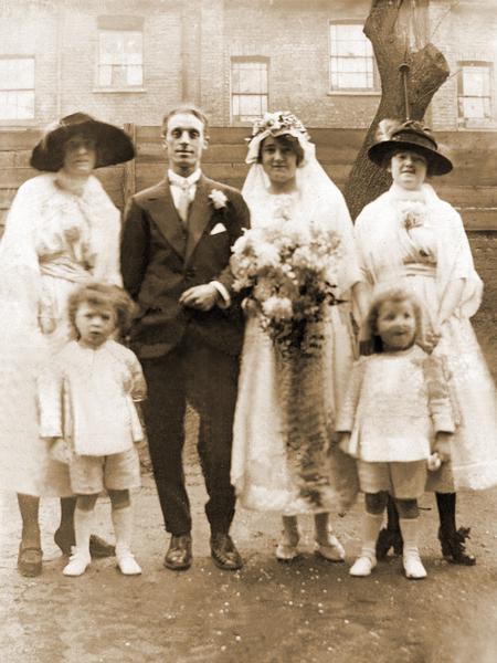 Frederick and Margaret Perkins wedding.