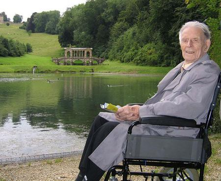 Harry Patch, 2007, by Jim Ross