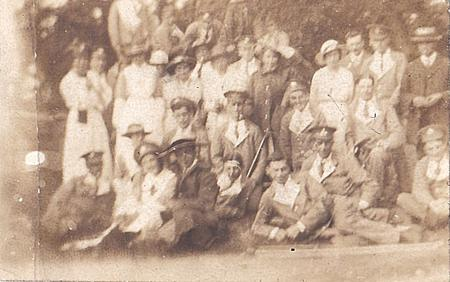 Group Photo, VAD Hospital, Chard, Somerset