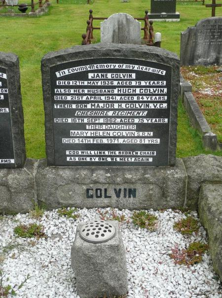 Grave of Major Hugh Colvin VC