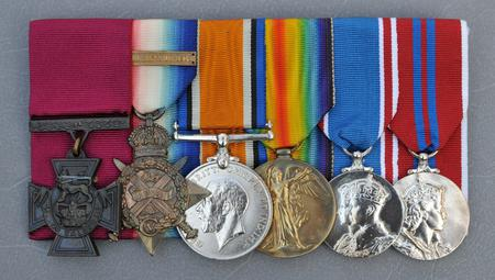Major Hugh Colvin VC Medal group