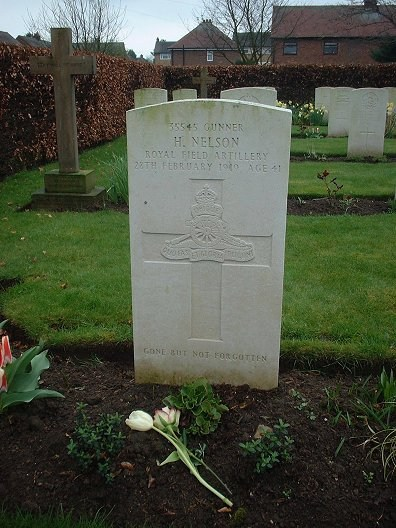 Grave of Herbert Nelson