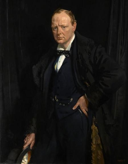 Winston Churchill in 1916