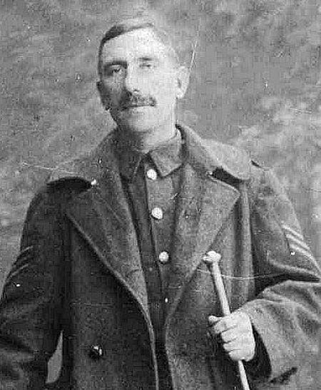 Serjeant Sam Jones in 1909