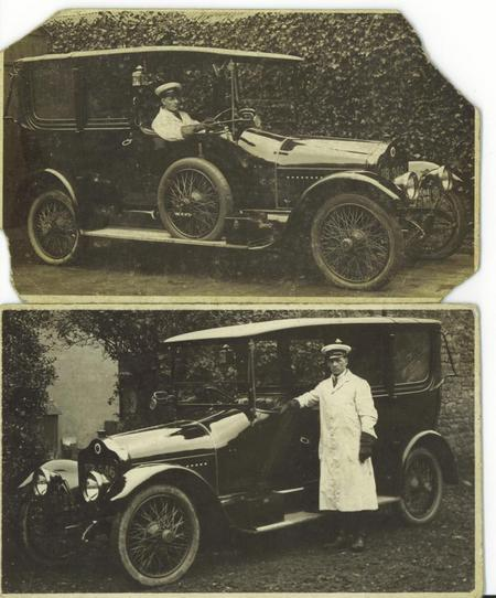 Hugh Thomas George Robins - Chauffeur