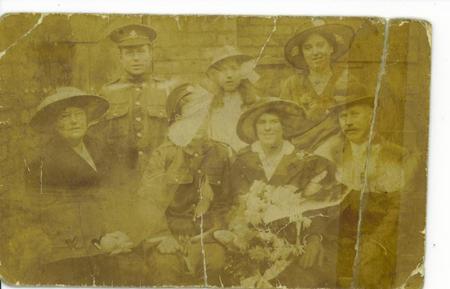 Hugh T G & Elizabeth S Robins - Wedding 8/12/1915