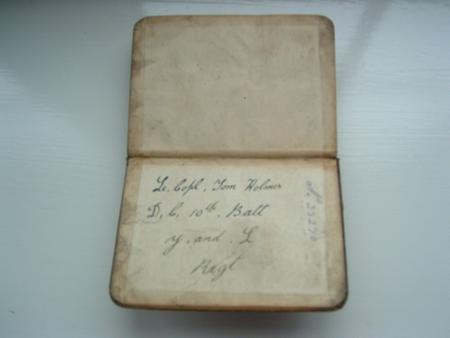 Tom's war bible