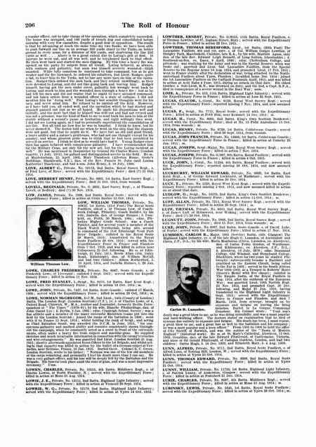 UK, De Ruvigny's Roll Of Honour 1914-1918
