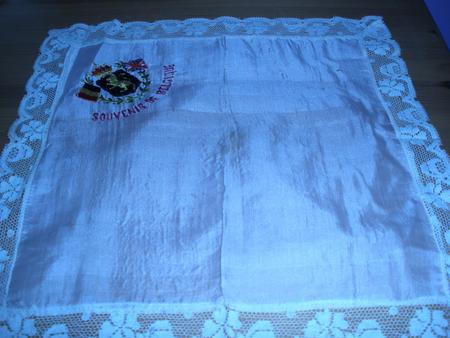 Souvenir of Belgium handkerchief