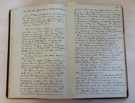 Minutes of the LSO Ltd AGM 26 July 1917
