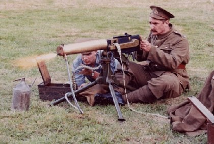 Maxim Gun early ww1