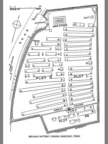Cemetery Plan.