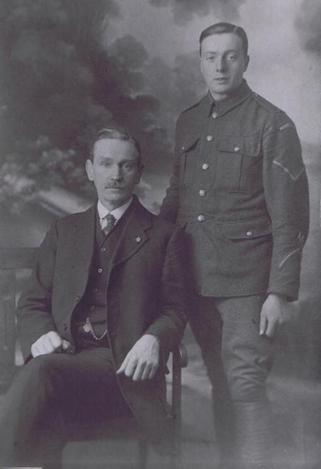 Father & Son - taken 1916
