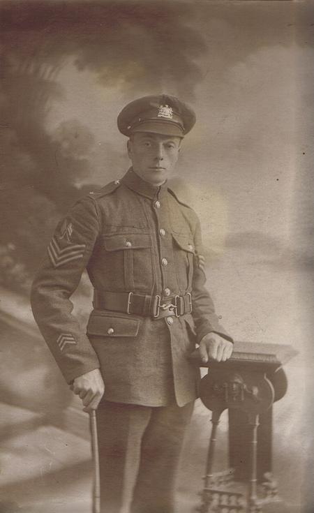Signal Sgt George Royle