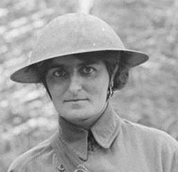 Photograph of Elsie Knocker