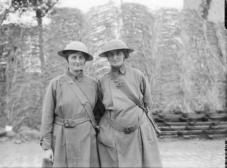 Photograph of Elsie (right) with Mairi Chisholm