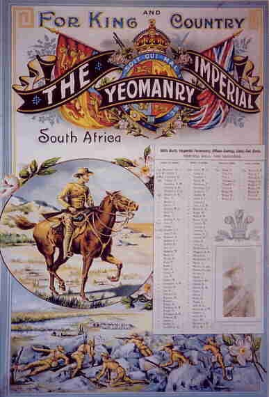 Imperial Yeomanry Poster