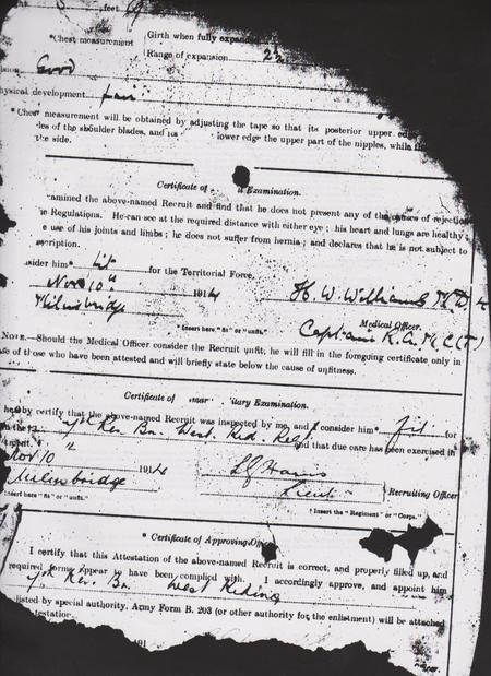 Harry's Army Record (2)