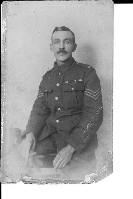 Sgt JH Taylor MM, 11th Hussars