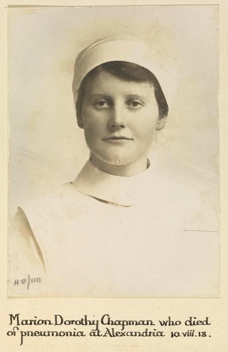 Profile picture for Marion Dorothy Chapman