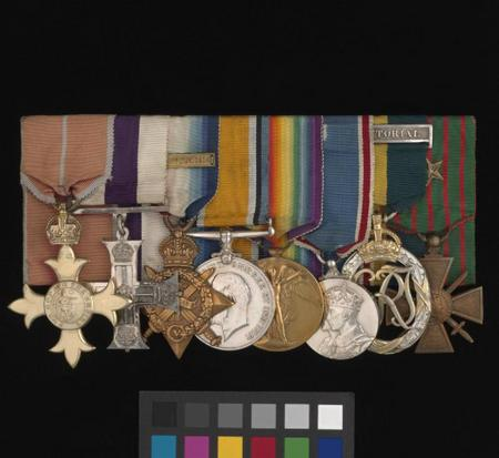 Christopher's medals in IWM Collections