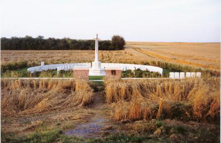 Gordon Cemetery Mametz France