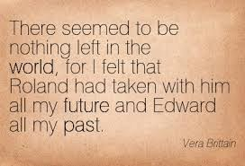 Quotation from Vera after the war