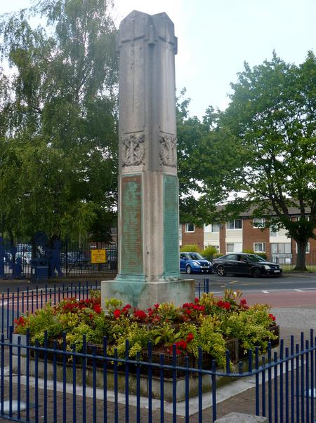 War Memorial, Waterloo, Ashton under Lyne