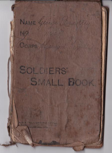 George Bradley's 'Soldiers' Small Book'