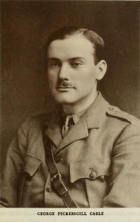 Harrow memorials: George Pickersgill Cable