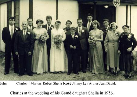 Granddaughter Sheila's Wedding.