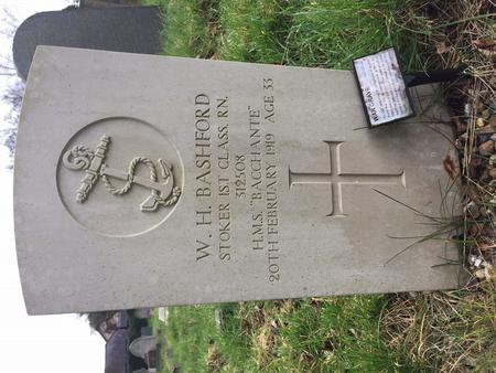 Grave of W H Bashford 312508
