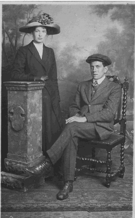 Leonard and Eveline Sanderson