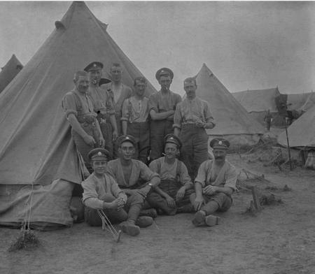 Army Bivouac Camp. WW1.